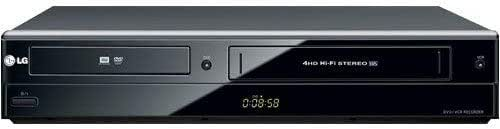 LG RC897T Multi-Format DVD Recorder and VCR Combo with Digital Tuner (2009 Model) (Renewed)