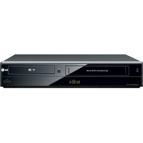 LG RC897T Multi-Format DVD Recorder and VCR Combo