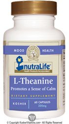 NutraLife casher L-Théanine 200 mg 60 capsules