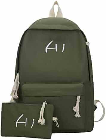 a74bf18611f6 Shopping Greens or Blues - Canvas - Handbags & Wallets - Women ...
