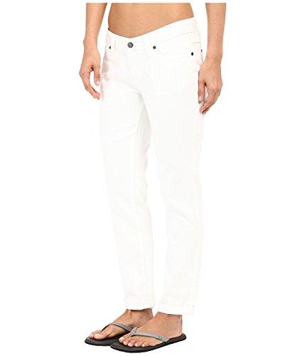 prAna Women's Honour Jeans, White, Size 4