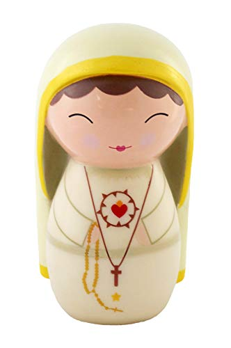 Shining Light Dolls Our Lady of Fatima Doll with Prayer and Story Card