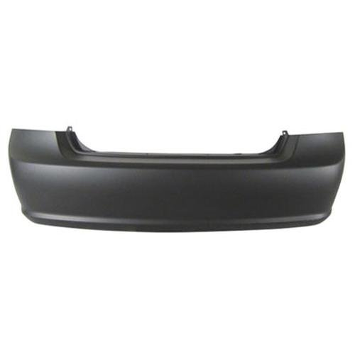 CPP Primed Rear Bumper Cover Replacement for 2007-2009 Kia Spectra