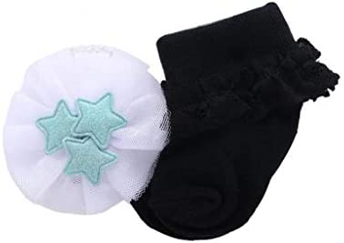Trifycore La niña de Ropa Botiquín de Primeros Auxilios Infantil del bebé de Las Colmenas del cordón de Calcetines de la niña del Arco del algodón Calcetines para un Infante recién Nacido