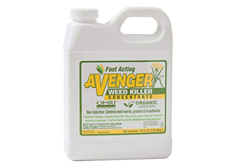 Avenger Organics, Avenger Weed Killer Concentrate, For Organic Gardening, 32 oz