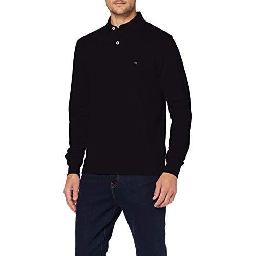 chollos oferta descuentos barato Tommy Hilfiger Tommy Regular Polo LS Camisa Desert Sky L para Hombre