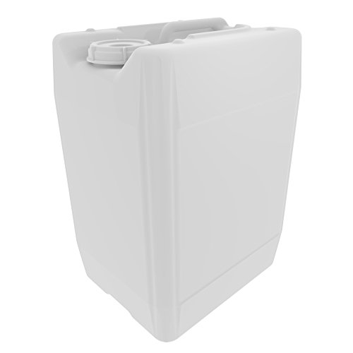 (UN/DOT Tight Head Containers for Shipping, Transport, Storage, and Waste; 20L (5 Gallon), HDPE, 70mm Cap, UN 3H1, 1/EA)