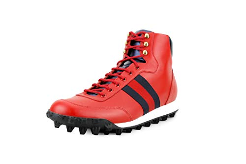 e Web High-Top Sneaker, Red (11 US / 10.5 UK) ()