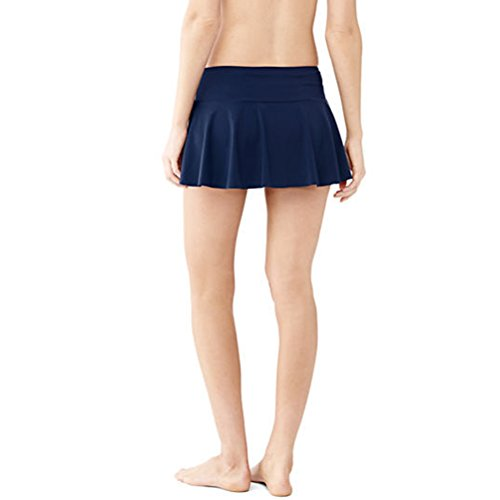 Zhuhaitf Women's Beach Skirt Short Sarong Bikini Cover Wrap Up Summer Dress Trajes de baño Black