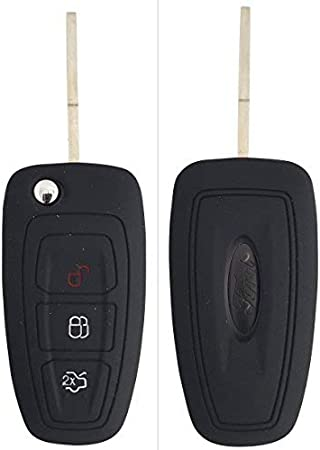 Schlüssel Cover Car Key für Ford Focus Mondeo C-Max Galaxy Silikon Schutz Hülle
