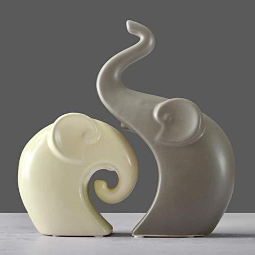 Jueven Moderno y sencillo Armario de vinos Decoración Elefante Escultura Artesanía Artesanías de sobremesa Accesorios para...