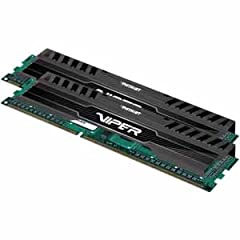 Patriot Memory's Viper 3 Series memory kits are designed with true performance in mind. Tested and compatible with Intel's and AMD's DDR3 compatible processors and chipsets, The Viper 3 series provides the best performance and stability for t...