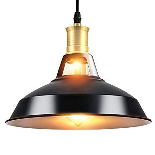 Glighone Lámpara de Techo Vintage Lámpara Colgante Industrial ...
