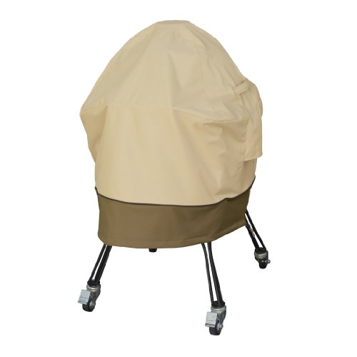 Classic Accessories Veranda Big Green Egg Grill Cover, X-Large (Grill Veranda Cover Patio)