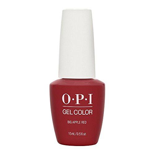 GELCOLOR SOAK OFF GEL NAIL POLISH 0.5 OZ BIG APPLE RED GC N25 (Opi Gel Nail Polish)