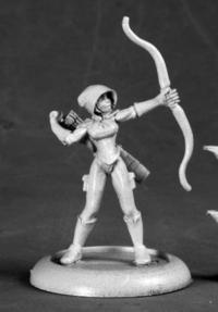 Silver Marksman-Super Heroine