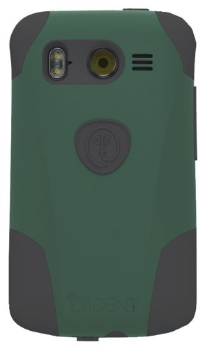 Trident Aegis Protective Case for HTC Inspire 4G- Retail Packaging - Ballistic Green