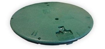 - Polylok 3008-RC Septic Tank Riser Cover, 24-Inch, Green