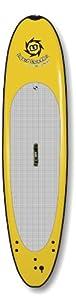 Liquid Shredder Paddleboard Softboard, Yellow, 9-Feet by Liquid Shredder