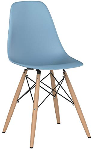 Le Vigan Eames Style Chair by Set Of 2 - Mid Century for sale  Delivered anywhere in USA