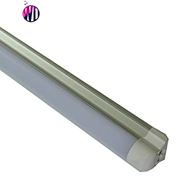 500 Pack Wonder Light T8 LED Shop Light Tube Linkable Integrated Emergency lamp Single Fixture with Battery Inside, 3ft 14W (40W Equivalent), Single-Ended Power