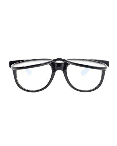 EmazingLights Flip Up Diffraction Prism Fireworks Rave Glasses (Black)