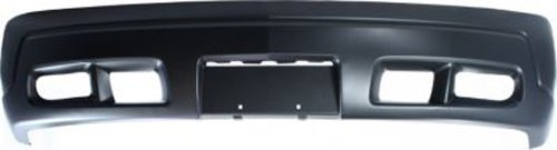 Crash Parts Plus Primed Front Bumper Cover Replacement for 2002-2006 Cadillac Escalade