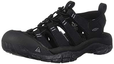 KEEN Mens Newport H2 Black Size: 7