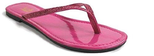 Kali Footwear Womens Focus Glitter Infradito Rosa Caldo