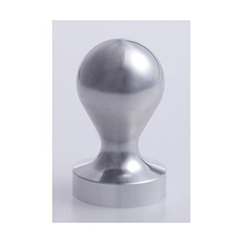 Espresso tamper 50mm for that was cut out from the coffee workshop Nana steel round bar (japan import) ()