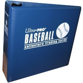 (Ultra Pro Card Baseball Card Album (3 Inch D-Ring Binder) and a Sealed Box of 9 Pocket Storage Sheets (100 Pages).)