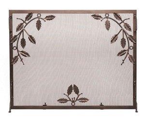 leaf design fireplace screens - 7
