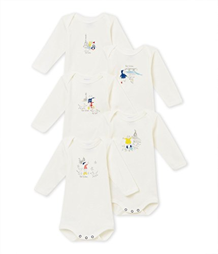 - Long Sleeve Paris Set of 5 Bodies (18m)