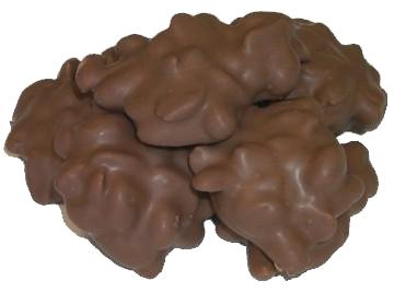 Cluster Peanut Milk Chocolate - Gourmet Milk Chocolate Covered Peanut Clusters by It's Delish, 2 lbs