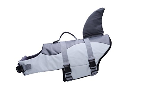 BFLIfe Dog Life Jacket Small Shark Pet Swimming Vest for Dogs by BFLIfe (Image #3)'