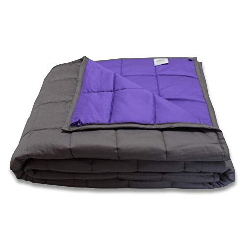 CMFRT Weighted Blanket for Kids - | 100% Soft Breathable Cotton (41