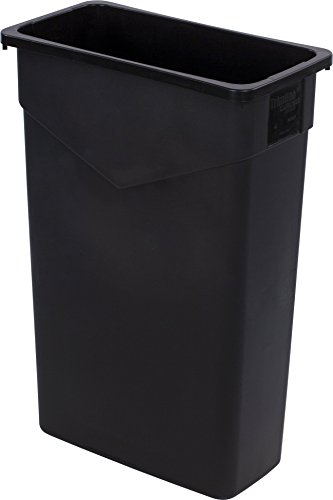 Carlisle 34202303 TrimLine Rectangle Waste Container Tras...