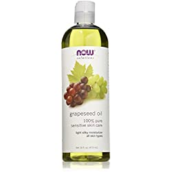 NOW Grape Seed Oil, 16 oz