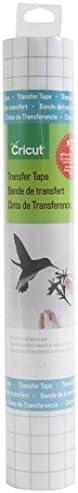 Cricut StrongGrip Cinta de Transferencia de Vinilo con Agarre Fuerte, Ajuste estándar, Standard Grip, 12x48-In