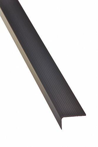 15x40 mm Á ngulo de la escalera 100cm autoadhesivo - Perfil del Borde de la escalera Borde de la escalera Perfil paso - bronce oscuro acerto