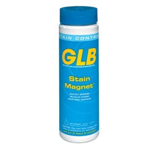 GLB Pool & Spa Products 71020 Stain Magnet 2-1/2-Pound Pool Stain Controller