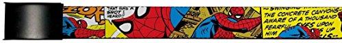Spider-Man Marvel Comics Superhero Comic Panels Action Web Belt