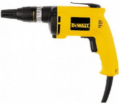 DeWalt DW255 Heavy-Duty Variable Speed Drywall Screwdriver, Reversible