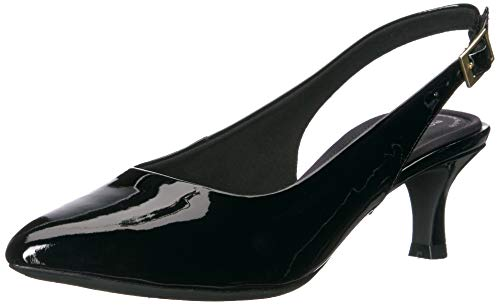 Rockport Women's TM Kaiya Sling Pump, Black Patent, 060 W US