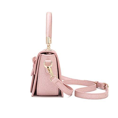 Sac Simple Messenger Sauvage Bandoulière 9 Femmes couleur Party Main Bag Dame 14cm Ailes À Taille Paquet Pour Ethba 21 Pink Shopping Mode Pink Sacs Élégantes F8Fqv