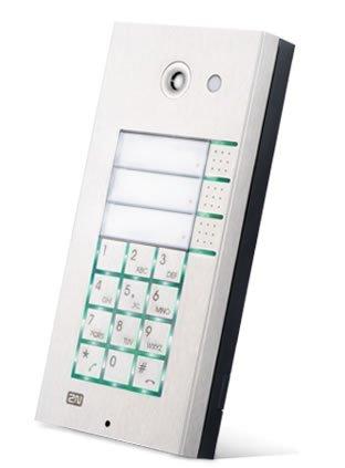 Cortelco 2N-9137160CKDU 2N Helios IP 3x2 button + keypad + cam