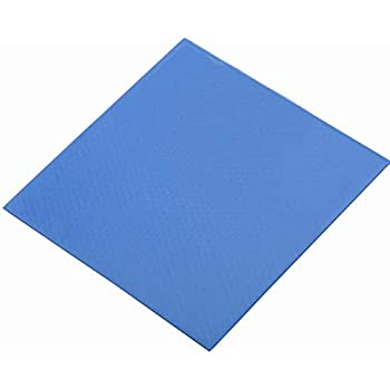 Soft Thermal Silicone Pad Wathai 100x100x1mm Blue Cooling for CPU GPU VGA IC Heatsink