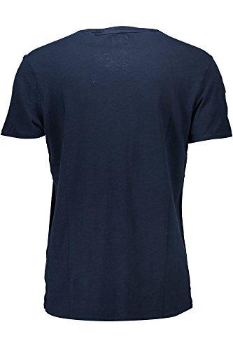 M82i09 k6xn0 Guess F7s7 Blu T shirt Uomo estate Primavera wq617tRF