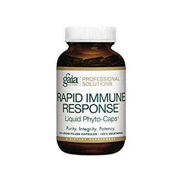 Gaia Herbs Rapid Immune Response (Rx-A Defense) 40 Liquid Phyto-Caps