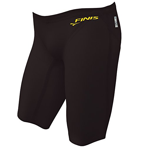 FINIS Men's Vapor Jammer Swimsuit, 28, Black